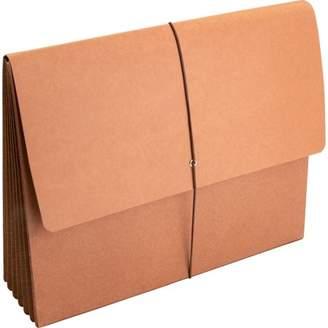 Business Source, BSN26575, File Wallet, 1 Each, Brown