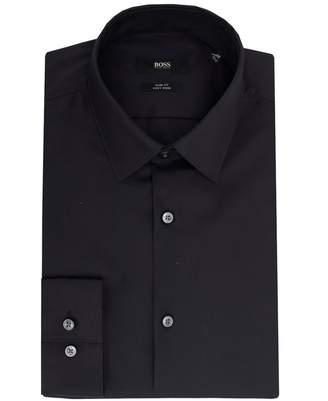 Boss Black Tailoring Isko Slim Fit Poplin Shirt