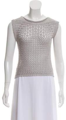 Pierre Balmain Sleeveless Knit Sweater