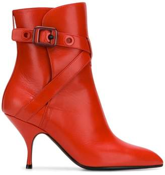 Bottega Veneta pointed ankle boots
