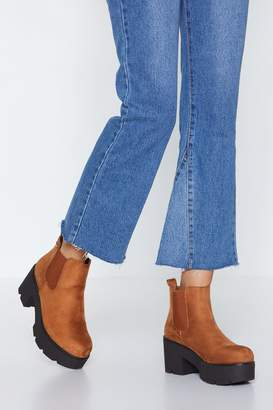 Nasty Gal Top of the World Platform Chelsea Boot