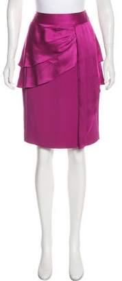 Temperley London Ester Knee-Length Skirt