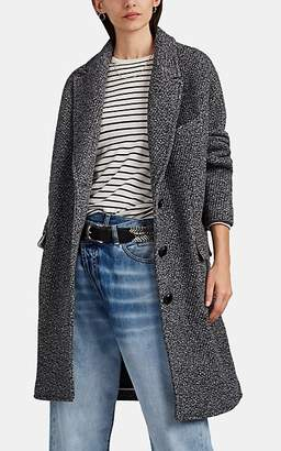 Etoile Isabel Marant Women's Wool-Blend Oversized Cocoon Coat - Gray