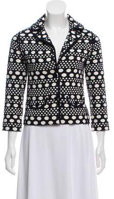 Tory Burch Knit Patterned Jacket