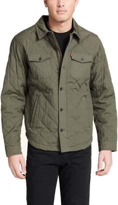 Levi's Levis Men's Diamond Quilted Shirt Jacket