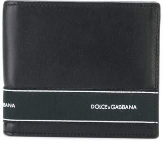 Dolce & Gabbana logo panel fold out wallet