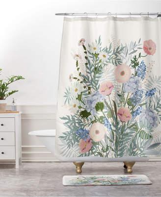 Deny Designs Iveta Abolina Scandi Ice Tan Bath Mat Bedding