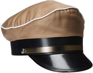 Jacobson Hat Company Men's Military Officer Cap