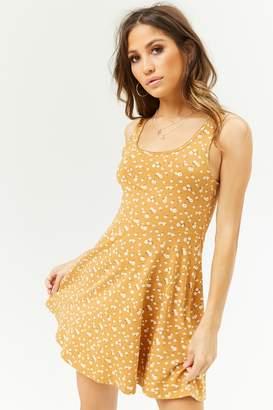 Forever 21 Ditsy Flower Skater Dress