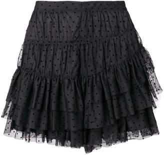 Ulla Johnson ruffled mini skirt