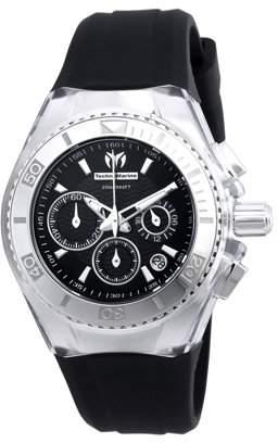 Technomarine Women's TM-115039 Cruise Original Quartz Chronograph Black Dial Watch