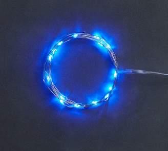 Pottery Barn Blue Mini LED String Lights