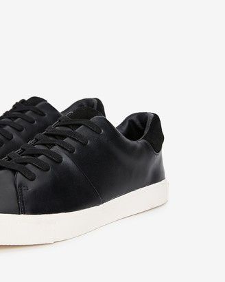 Express Faux Leather Suede Trim Sneakers