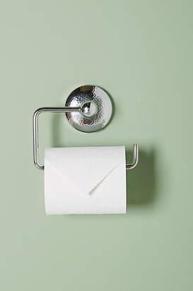Anthropologie Hammered Toilet Paper Holder