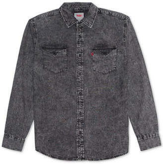 Levi's Men Matthew New Western Denim Shirt