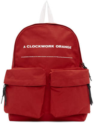 Undercover Red A Clockwork Orange Print Backpack
