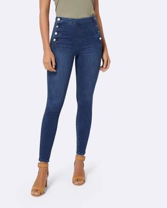 Forever New Heidi High-Rise Ankle Grazer Jeans