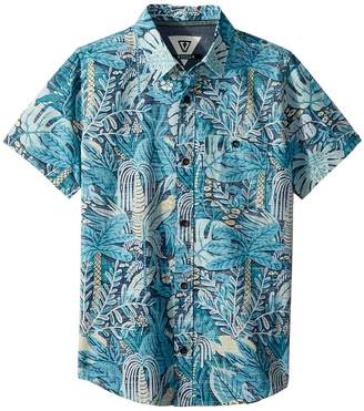 VISSLA Kids Tropical Maui Short Sleeve Woven Top Boy's Short Sleeve Knit