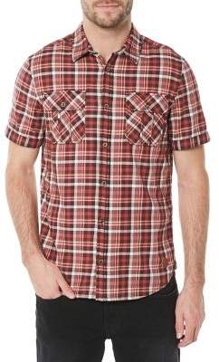 Buffalo David Bitton Plaid Button-Front Shirt