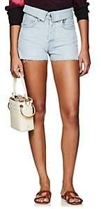 Atelier Jean Women's Flip Jean Shorts - Blue