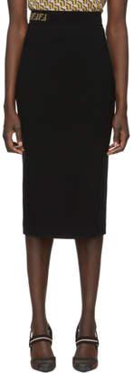 Fendi Black Forever Pencil Skirt
