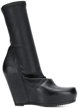 Rick Owens modern slip-on ankle boot
