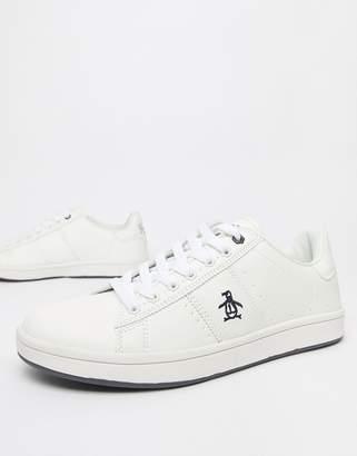 Original Penguin Steadman Sneaker in White