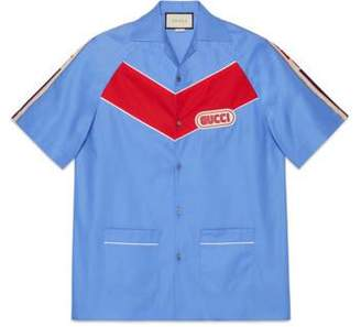 Gucci Bowling shirt with patch