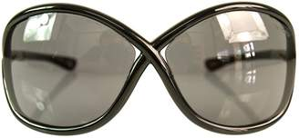 Tom Ford Black Plastic Sunglasses