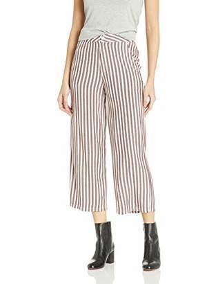 RVCA Junior's Manna HIGH Rise Trouser Pant