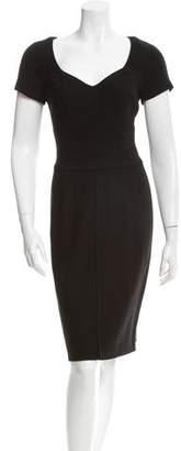 Narciso Rodriguez Wool Short Sleeve Dress