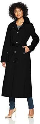 London Fog Women's Maxi-Length Trench Coat