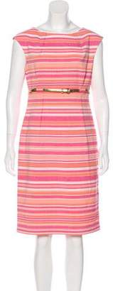 Calvin Klein Knee-Length Striped Dress