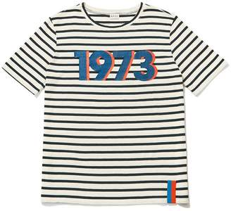 Kule Limited Edition 1973 Modern Short Sleeve Stripe Shirt
