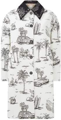 N°21 N 21 Cuba Toile Coat