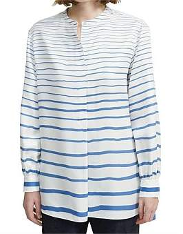 Theory Popover Tunic Paint
