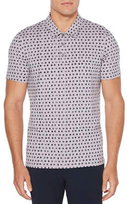 Perry Ellis Regular-Fit Broken Circle Cotton Polo