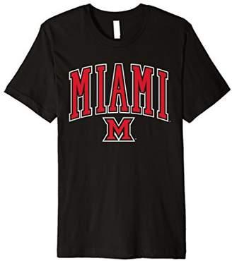 NCAA Miami University MU RedHawks Official T-Shirt 19MU-1