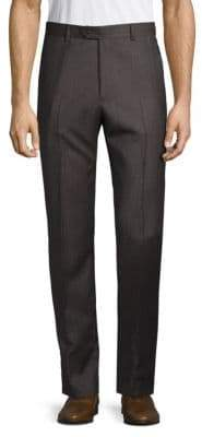 Santorelli Striped Wool Trousers