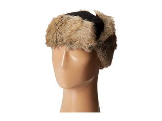 Woolrich Wool Blend Trapper with Faux Fur Lining