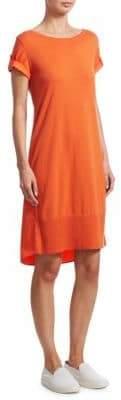 Akris Punto Short Sleeve Knit Dress