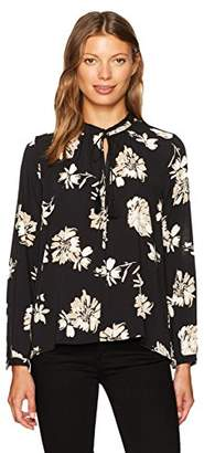 Lucky Brand Women's Printed Floral Parachute Top