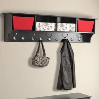 Zipcode Design Gonsalves 60 Hanging Entryway 9 Hook Storage Shelf