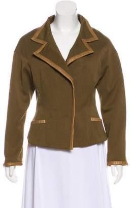 Isabel Marant Leather-Trimmed Zip Jacket