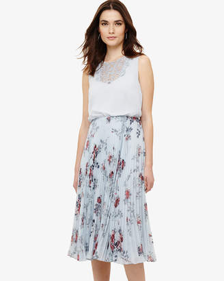 Phase Eight Patricia Pleated Floral Dress