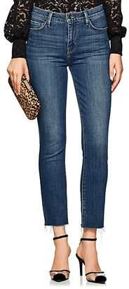 L'Agence Women's Sada Crop Slim Jeans - Blue