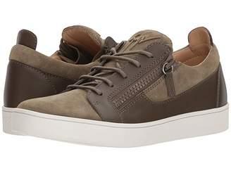 Giuseppe Zanotti Brek Suede Low Top Sneaker