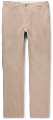 Seaton Pilgrim Surf + Supply Slim-Fit Brushed Stretch-Cotton Twill Trousers