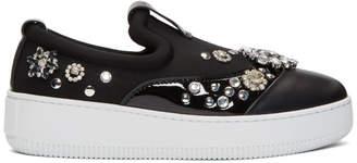 McQ Black Netil Slip-On Sneakers