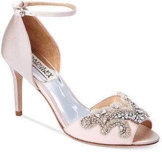 Badgley Mischka Barker Evening Sandals $225 thestylecure.com